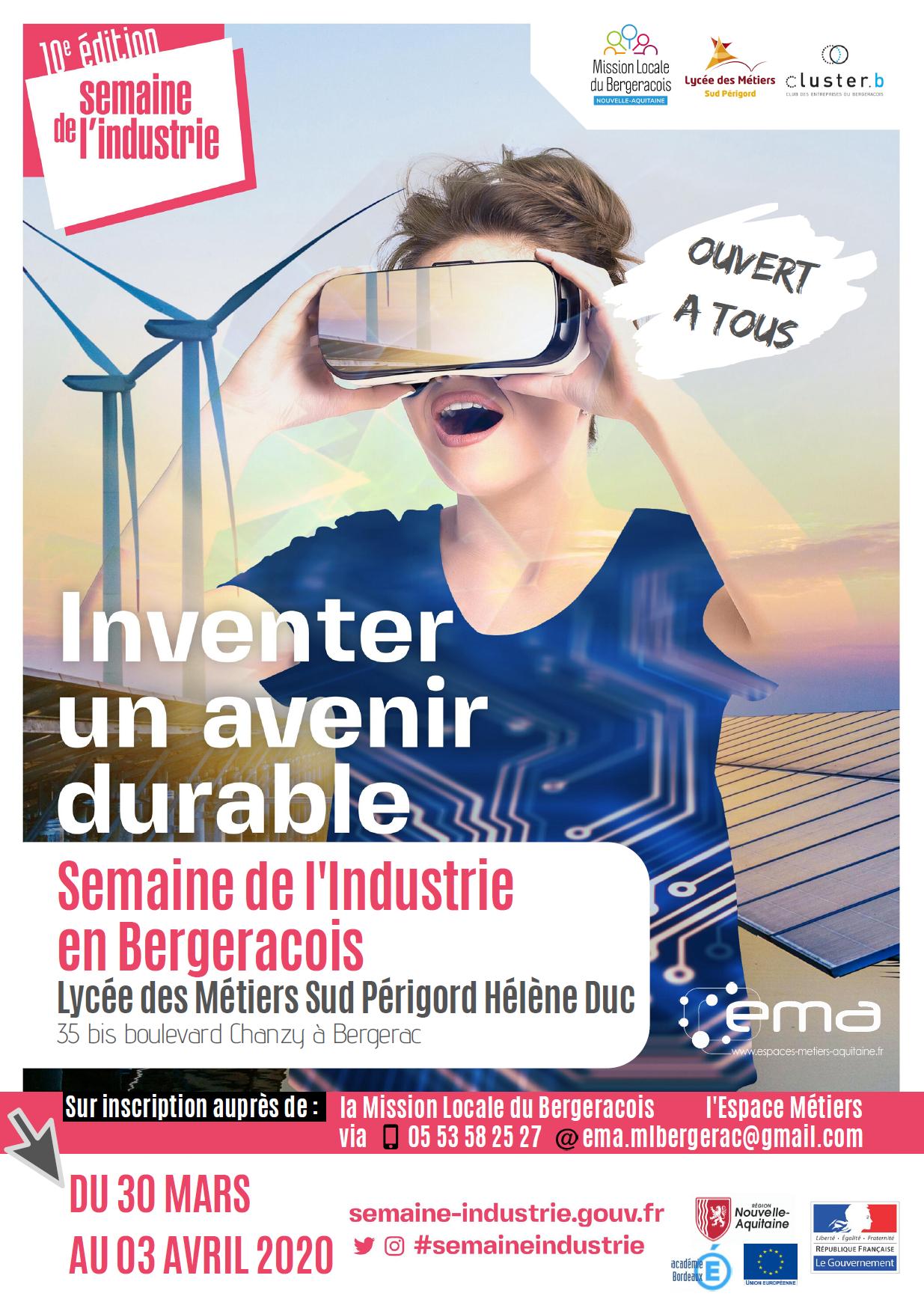 Semaine de l'Industrie en Bergeracois 2020